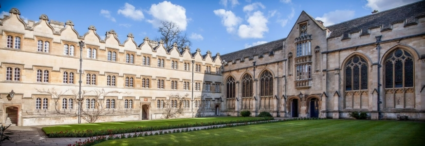 University College, Oxford. Zdroj: https://www.ox.ac.uk/admissions/undergraduate/colleges/college-listing/university-college