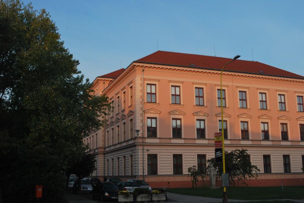 Dnešní podoba budovy gymnázia